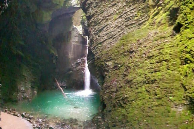 Kozjak waterfall, known also as Big Kozjak is one of the highest waterfall on the stream Kozjak in Slovenia