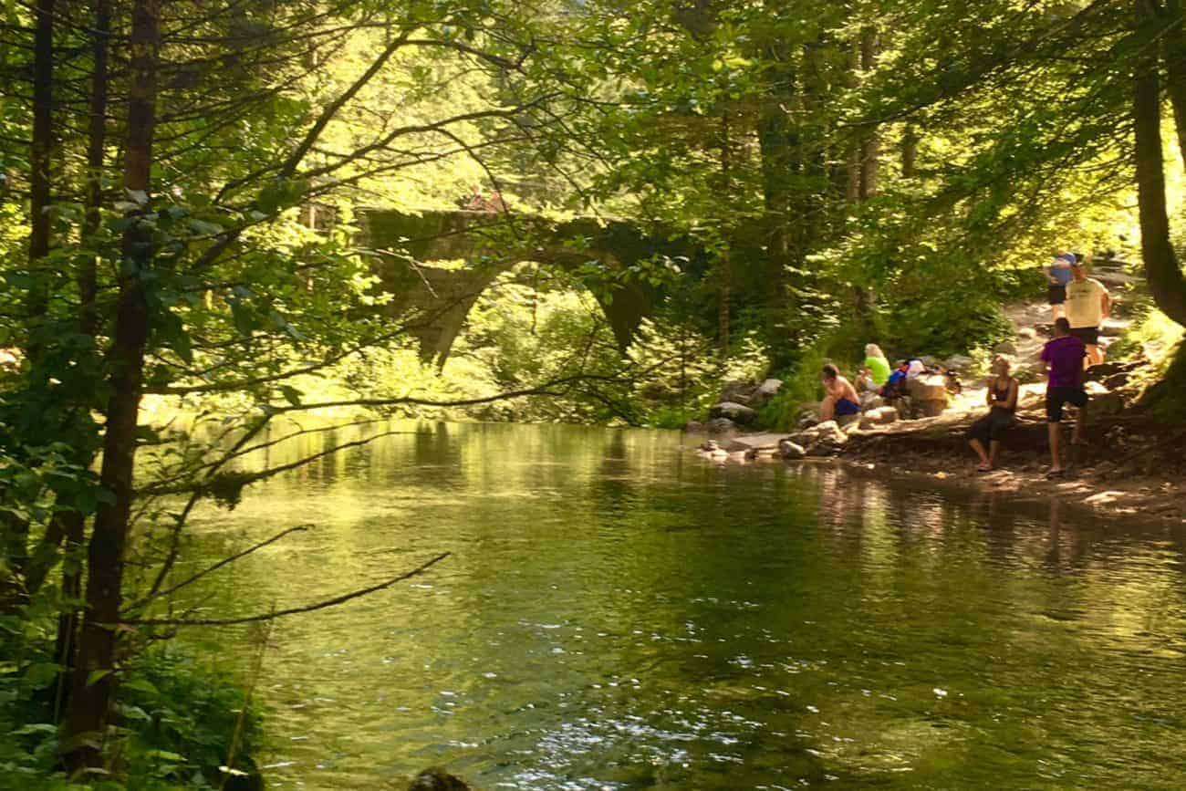 Kamniska Bistrica stream in Slovenia - hidden from curious eyes - we will take you there - Slovenia & Croatia tours