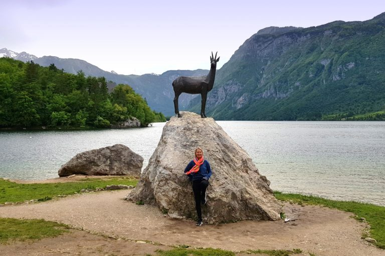 Bohinj's sculpture in Slovenia - Lake Bohinj