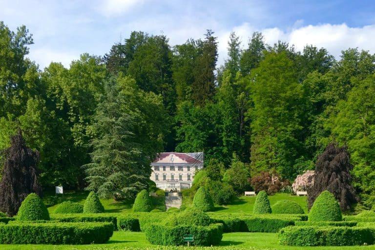 Voljcji Potok, beautiful landspcaped park in Slovenia - Volcji Potok Arboretum
