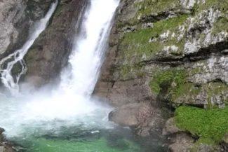 Savica waterfall - a beautiful spot to visit