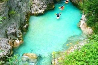 Soca River, Slovenia - Kayaking for the brave
