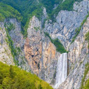 Boka waterfall - touring Slovenia