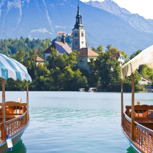 HTT Lake Bled church - Explore Slovenia
